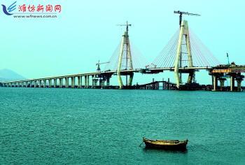 2012年03月23日   连接山东烟台海阳市与青岛即墨市的海即跨海大桥